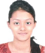 Maitreyi Bhat, Bright Riders Class Topper, Dance,Debating & Swimming Champ