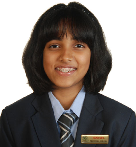 Priyanka Suresh, JSS Head girl of school, Best speaker award, Sheikh Hamdan award nominee