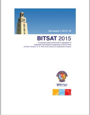 BITSAT – 2015 Brochure - Previw